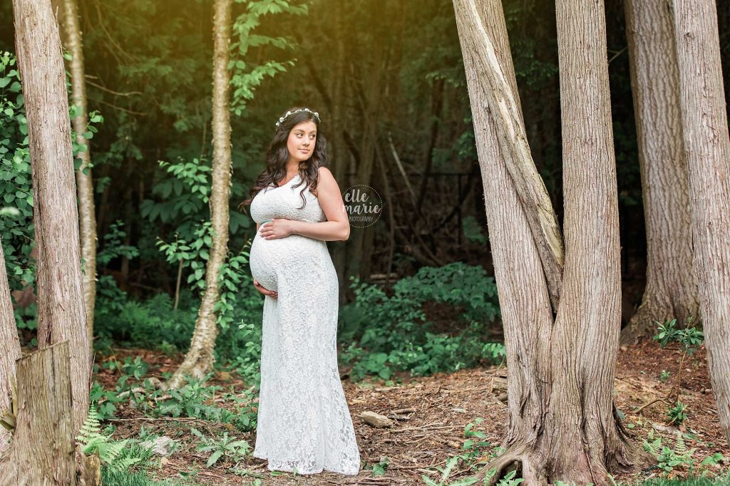 maternity in the woods